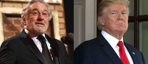 Donald Trump heeft ruzie met Robert De Niro