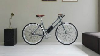 minimalistische elektrische fiets