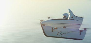 Youtube ster casey neistat vliegt in de eerste vliegende auto