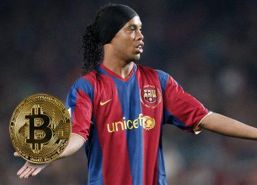 Ronaldinho Bitcoin cryptocurrency