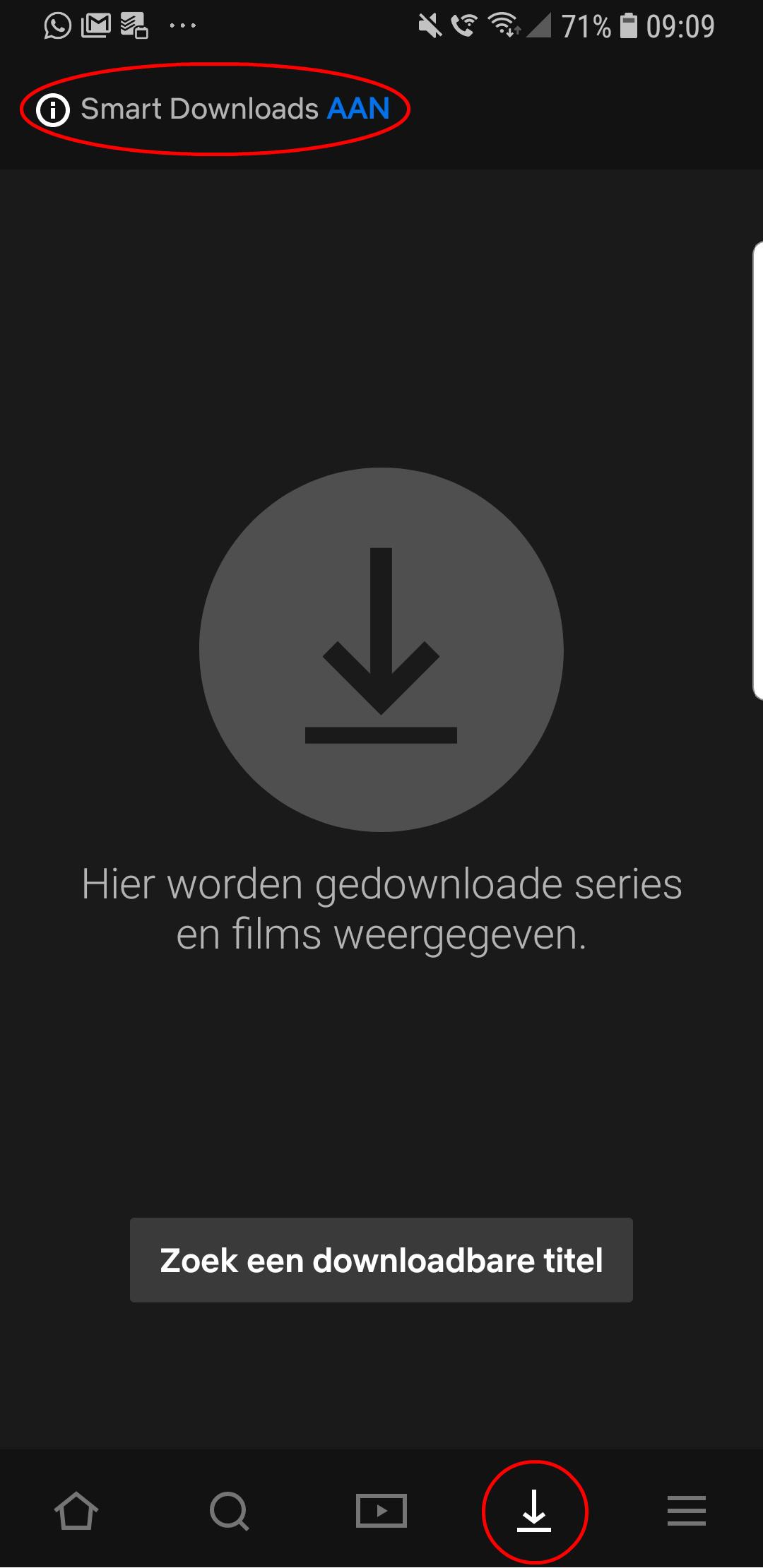 Netflix update app Smart Download
