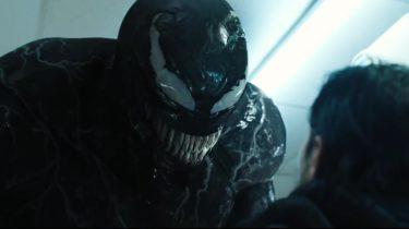 Marvel's anti-held Venom, gespeeld door Tom Hardy