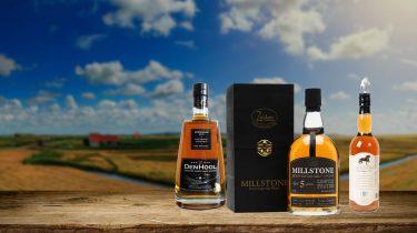 Nederlandse whisky's in de aanbieding