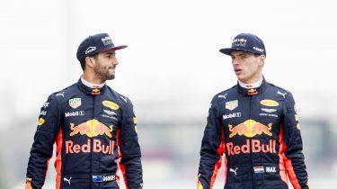 Max Verstappen Daniel Ricciardo
