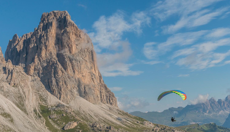 The North Face Mountain Festival paragliden