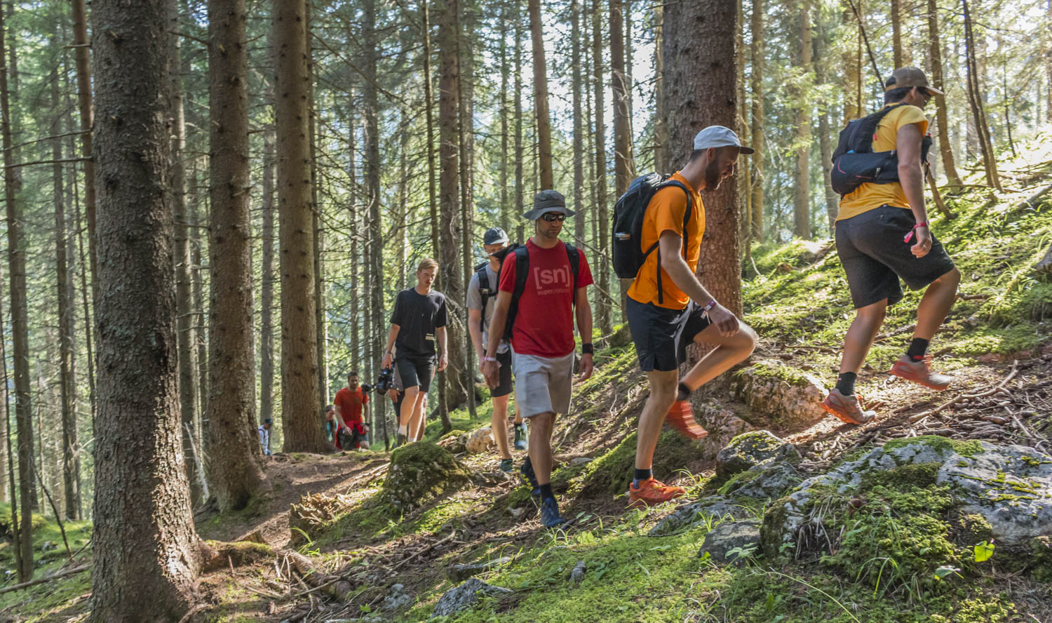 The North Face Mountain Festival hike