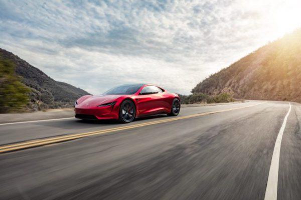 De nieuwe Tesla Roadster