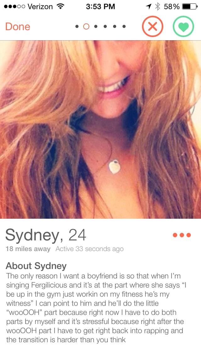 Tinder Profiel