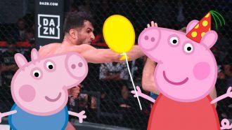 Bellator Peppa Pig Gegard Mousasi