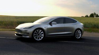 Tesla Model 3 Elon Musk