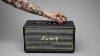 Marshall speakers
