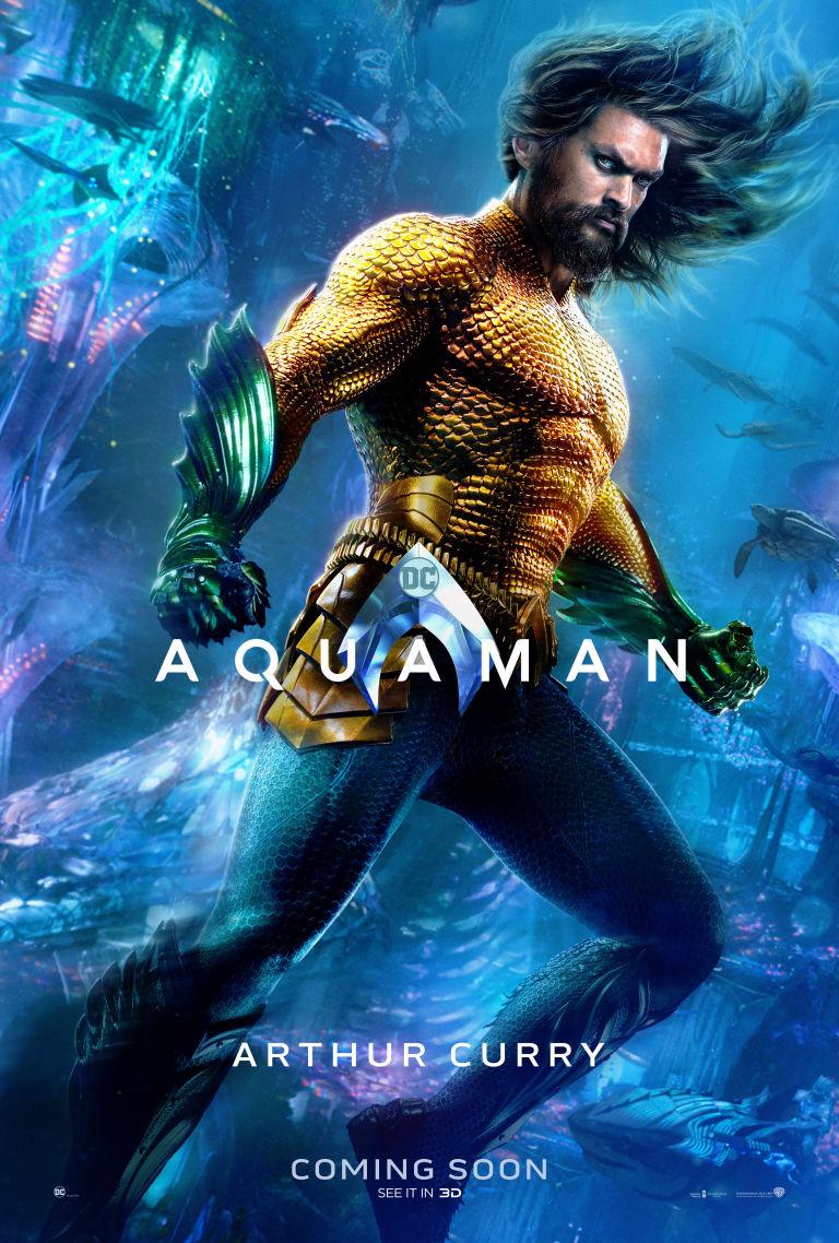 Filmposter Aquaman