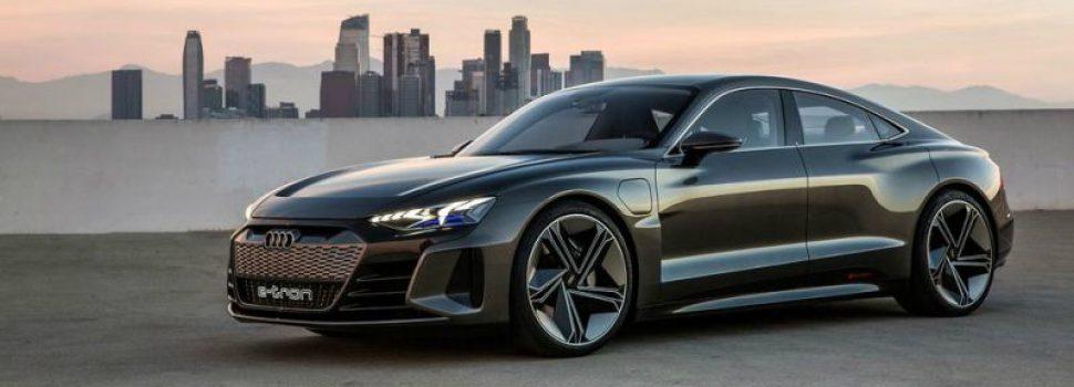 Audi onthult de E-Tron GT, een elektronische coupé die je hart sneller doet kloppen