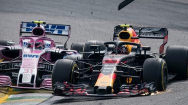 Max Verstappen Esteban Ocon Formule 1