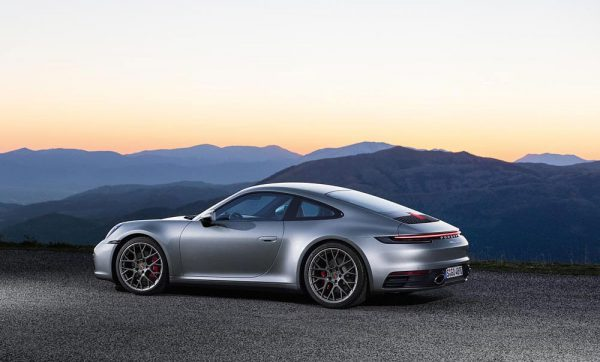 Dit is de nieuwe Porsche 911 carrera 4s