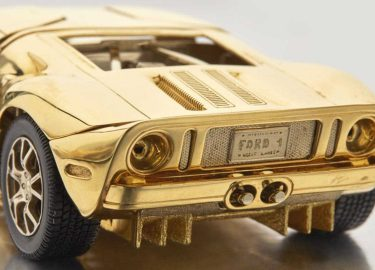 Ford GT Gold