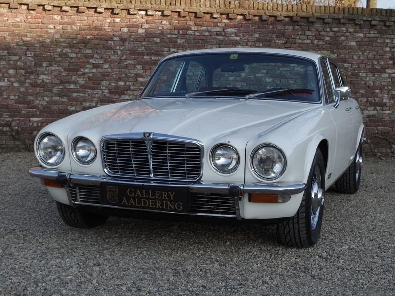 Jaguar XJ6 uit 1974