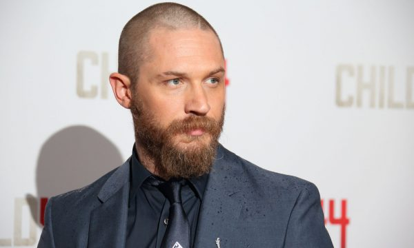 LONDON, ENGLAND - APRIL 16:  Tom Hardy attends the UK Premiere of