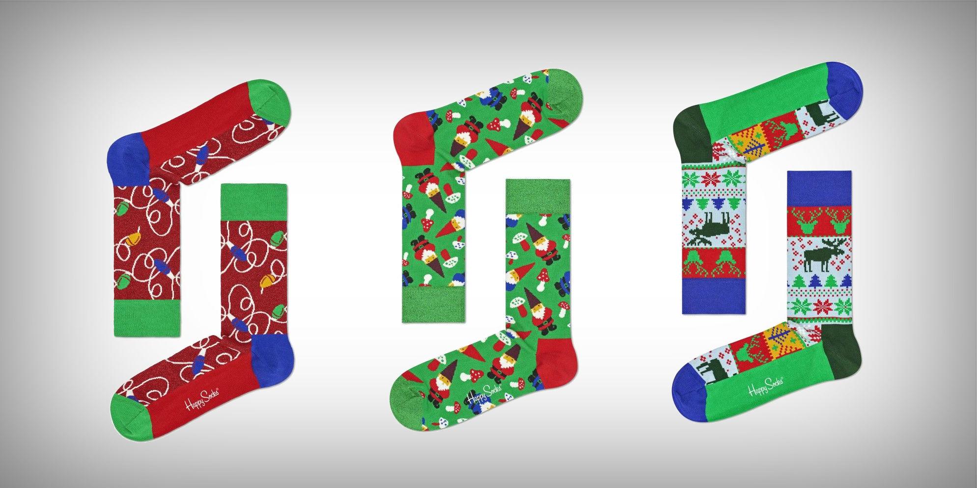 Kerstokken Happy Socks