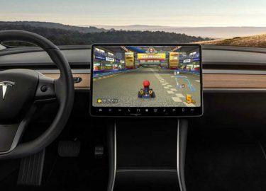 Mario Kart Tesla Elon Musk
