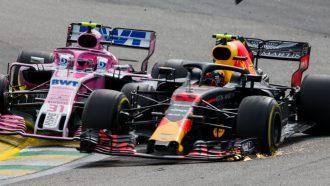 Max Verstappen Esteban Ocon crash