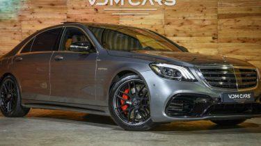 Mercedes-Benz S-klasse 63 AMG