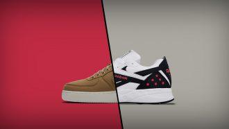 sneakers nike reebok sneaker
