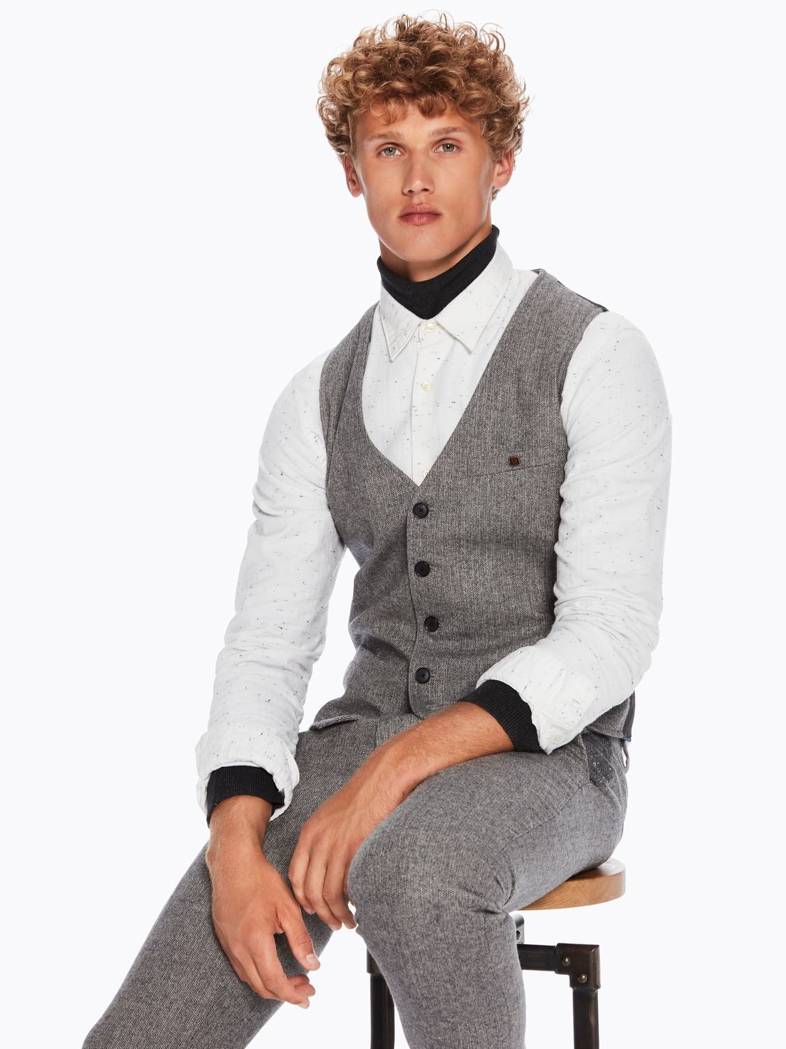 Gilet kerst outfit