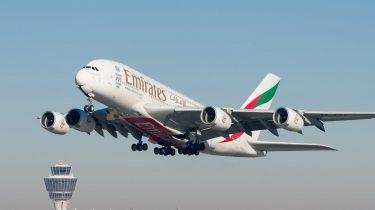 Airbus A380 piloot storm wind landen