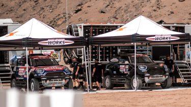Dakar Rally bivak