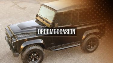 Tweedehands droom occasion Land Rover Defender