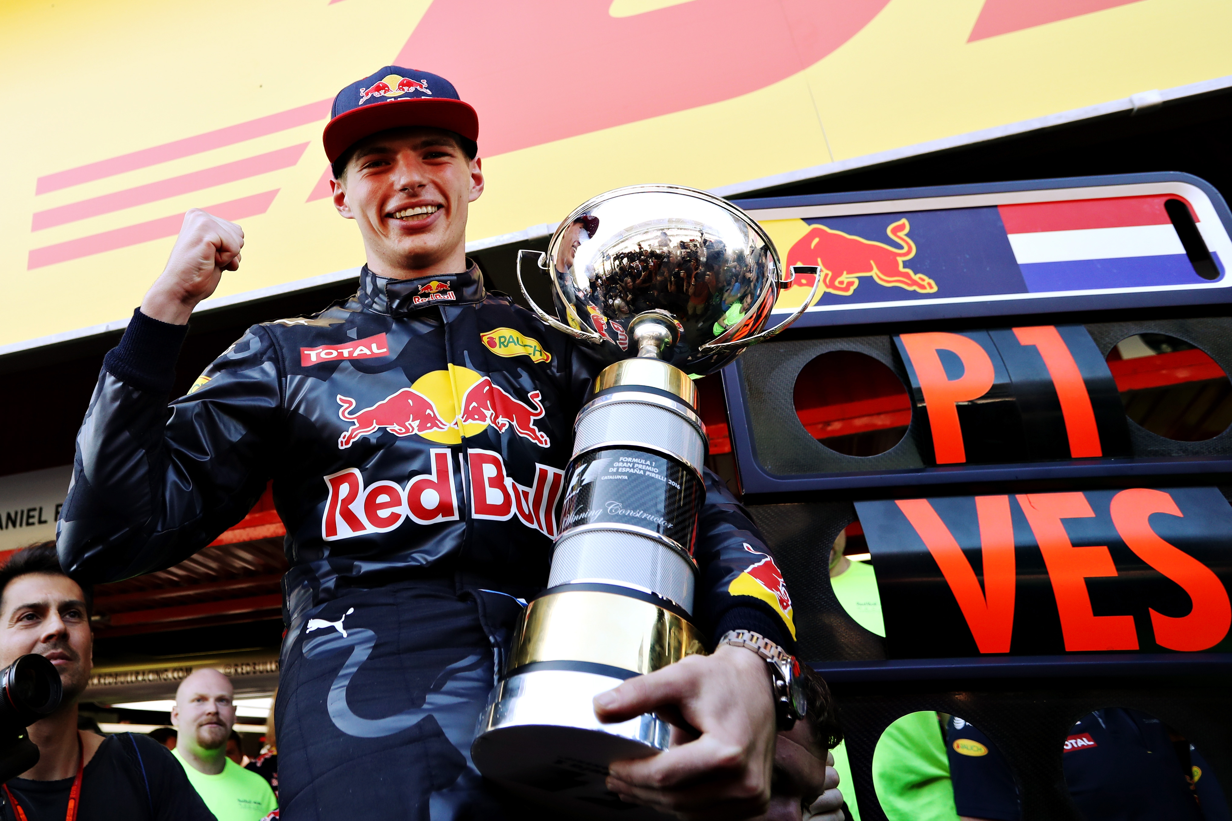 Max verstappen F1 salaris