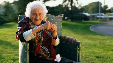 Jeanne Calment oudste vrouw ter wereld blijkt bedrieger