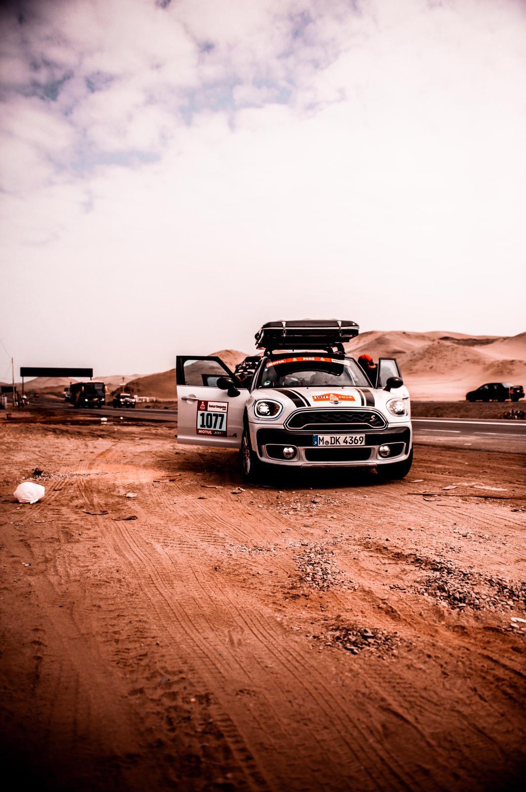 Roadtrippen Dakar Mini Countryman