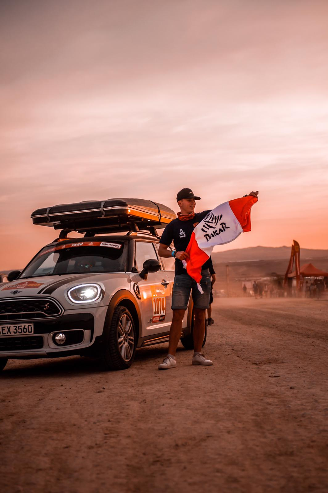 Dakar Mini Countryman roadtrip