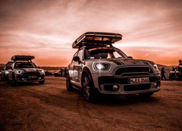 Dakar Rally Mini Countryman roadtrip