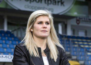 Hoofdtrainer Imke Wubbenhorst vrouwelijke trainer penis