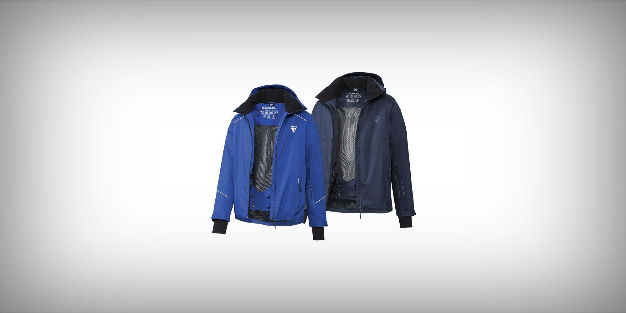 CRIVIT®PRO Dames ski jas (42, Witgrijszwart) | LIDL