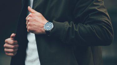 Horloge met crypto wallet
