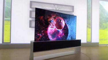 lg oprolbare 4k tv