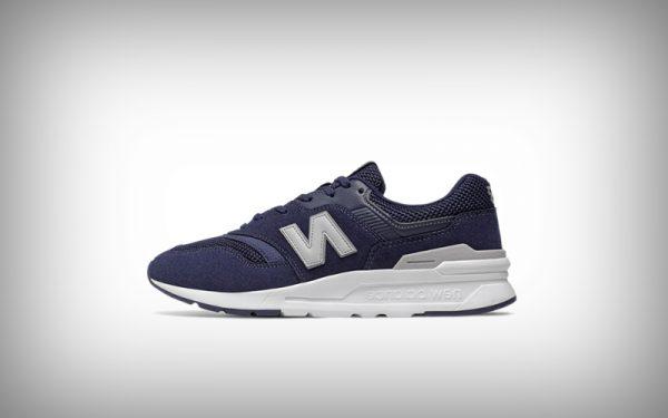 sneaker new balance blauw
