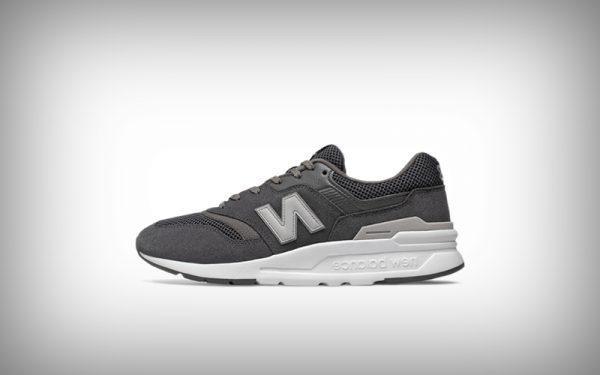 sneaker new balance grijs
