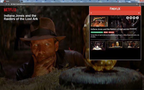 findflix maakt zoeken op Netflix eenvoudig