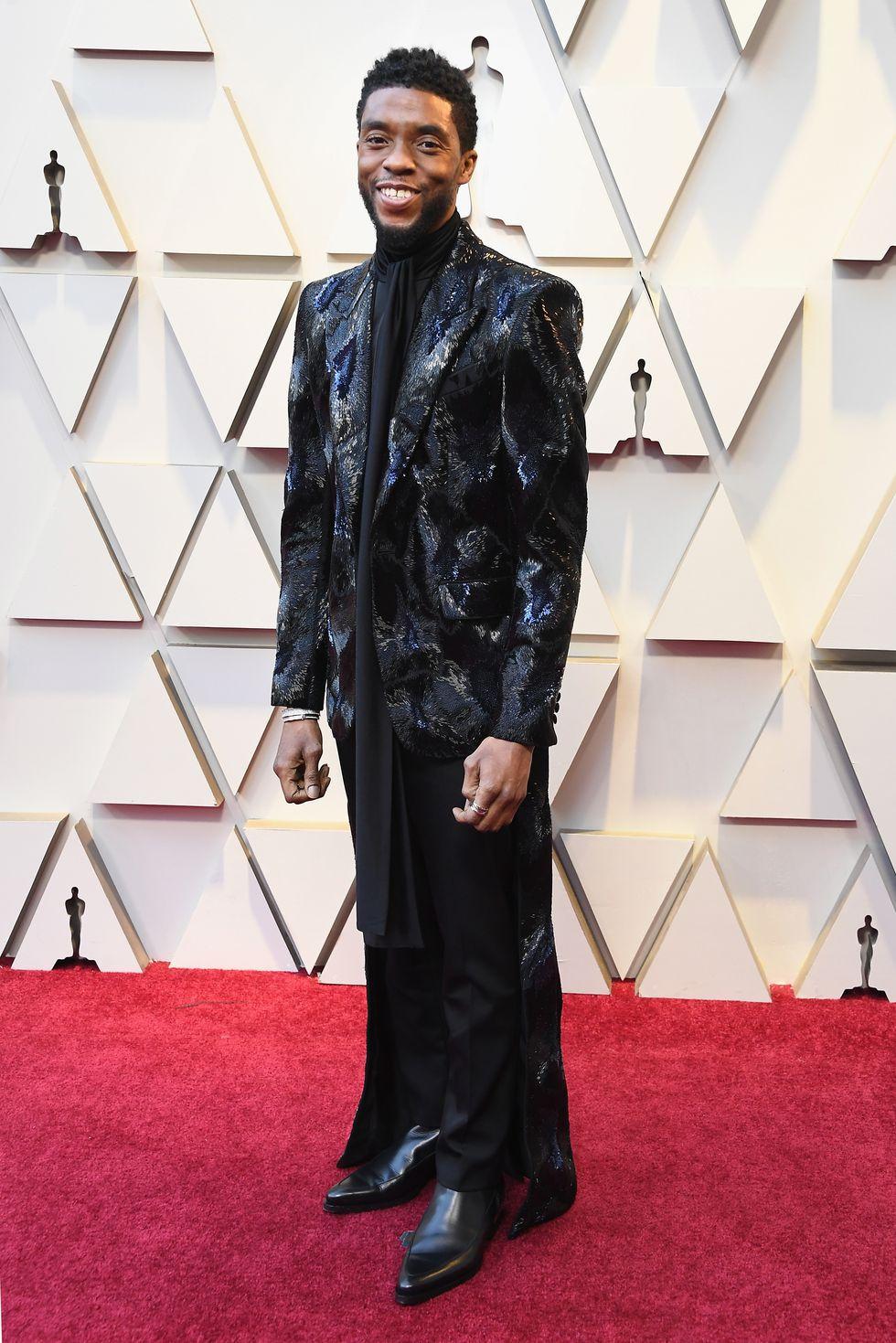 Chadwick Boseman Oscars 2019