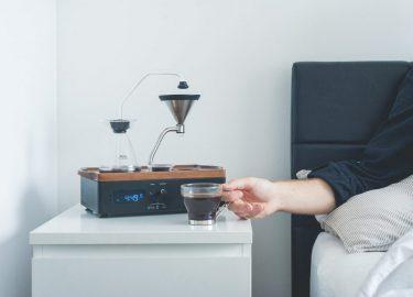 Wakker worden met verse koffie