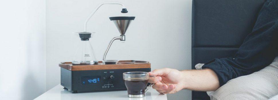 Heerlijk wakker worden met de Barisieur Alarm Clock en de aroma van verse koffie