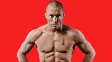 Under-training UFC George St Pierre