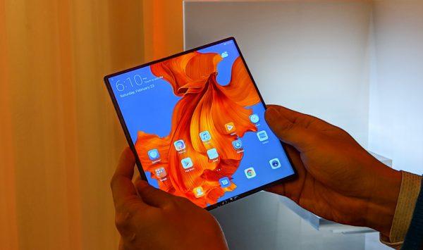 Huawei Mate X opvouwbare smartphone