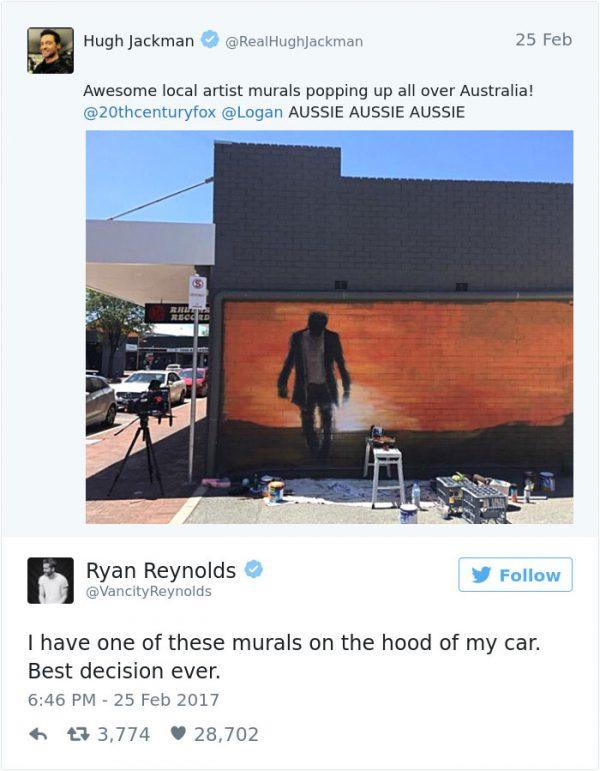 Hugh Jackman and Ryan Reynolds vechten Twitter-oorlog uit in fantastische video