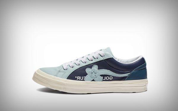sneaker converse bloem